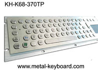 Stable Performance Industrial Keyboard with Touchpad 70 Keys , Metal Touchpad Keyboard