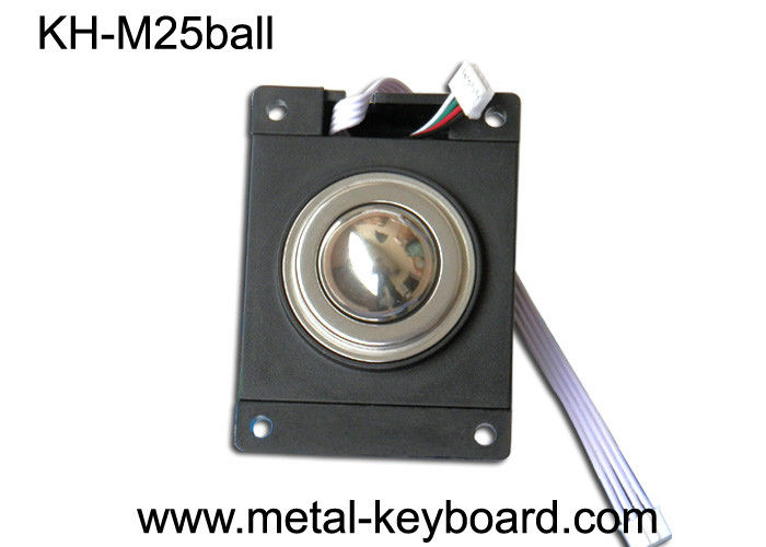 IP65 Industrial Trackball Optical Modules with 25MM Stainless steel Trackball