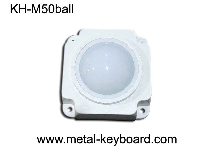 Dust proof Mechanical Industrial Trackball Mouse , Trackball Pointing Device