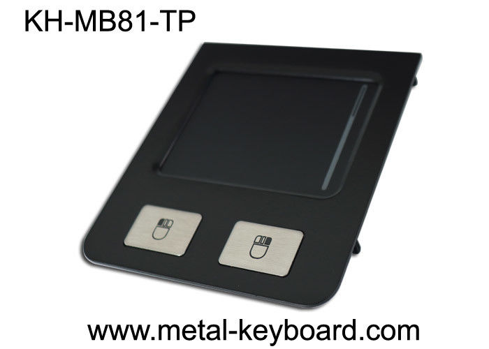 2 Keys Industrial Pointing Device Panel Mount Black Stainless Steel Touchpad Durable