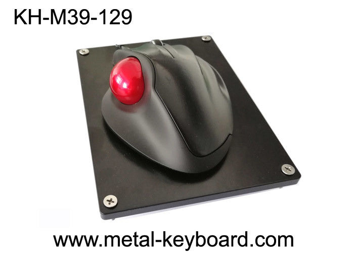 USB Connector Panel Mount Trackball Mouse No Driver Needed Ergonomics Design