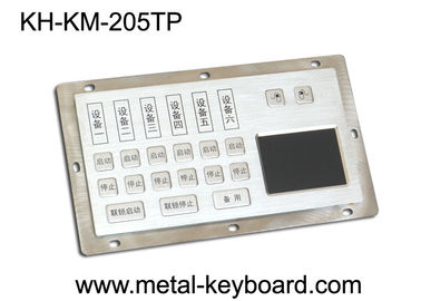 چین Dust - Proof Panel Mount Keyboard with Stainless Steel Material for Info - Kiosk کارخانه