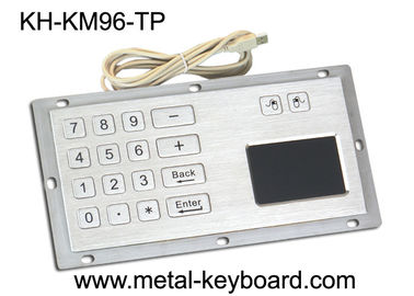 چین Industrial Panel Mount Touchpad Keyboard with USB Interface , Custom Mechanical Keyboard کارخانه